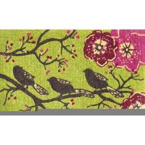 Three Little Birds Coir Mat Patio, Lawn & Garden