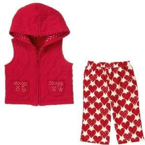 GYMBOREE Valentines Day Hearts Pants Vest NWT U Pick