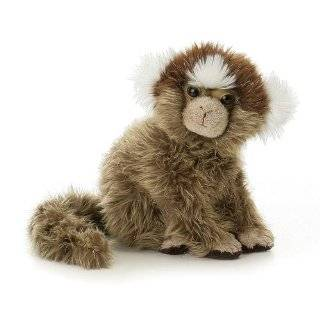 14 Cotton Top Tamarin Monkey Plush Stuffed Animal Toy