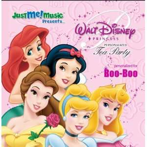 Disney Princess Tea Party Boo Boo Music