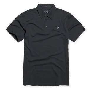 FOX Racing 44215 Boys MR CLEAN Golf Polo Shirt Black KXL