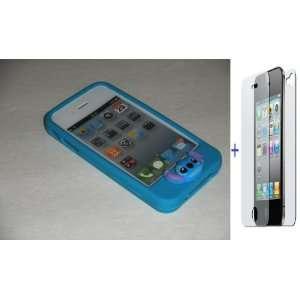 Premium Quality (Blue) Slim Candy Jelly Silicone Case Skin
