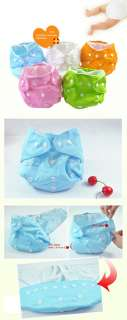 Reusable Washable Baby Cloth Diaper Nappy /insert/ safty pin