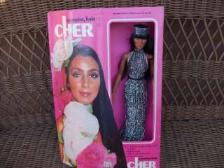 Cher Growing Hair 1976 Mego Poseable Fashion Doll MIB