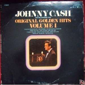 JOHNNY CASH   original golden hits vol 1 SUN 100 (LP vinyl