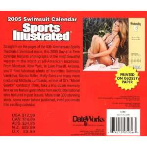 Sports Illustrated Swimsuit 2005 Calendar Day At A Time