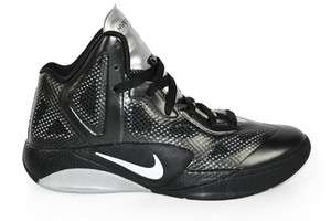 Hyperfuse 2011 (GS) Black White Silver 454580 003 Basketball Shoes