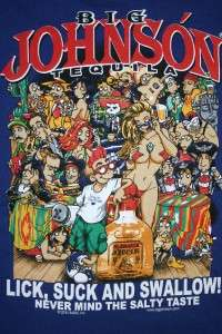 Big Johnson T Shirt Tequila