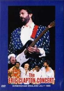 Eric Clapton Concert in Birmingham (1986) DVD