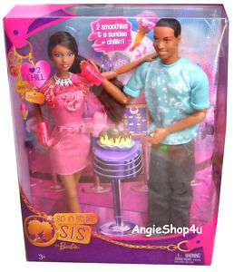 Barbie S.I.S. SO IN STYLE Grace & Darren 2 Dolls New