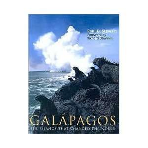 Galapagos Publisher Yale University Press Dr. Paul D. Stewart Books