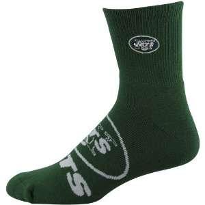 NFL New York Jets 2012 Big Logo Sock   Green Sports