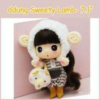 Ddung Korean Lovely Cute Doll Sweety Lamb 7 Figure NEW