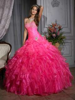 Sweetheart Wedding Bridal Bridesmaid Prom Ball Gown Evening Dresses