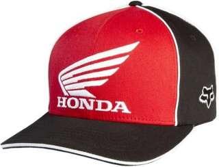 FOX RACING TEAM HONDA Mens Moto Super Cross MX Flex Fit Hat Clothing