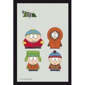 South Park   Bar Mirror (The Boys) (Size 9 x 12