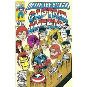 Captain America #401 (After The Storm) Marvel Comics Books