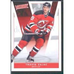 2010/11 Upper Deck Victory Hockey # 118 Travis Zajac Devils / NHL