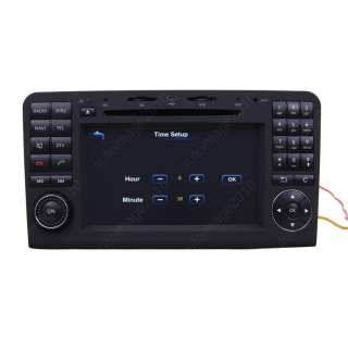 06 11 Mercedes Benz ML350 Car GPS Navigation Radio TV Bluetooth USB