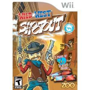 com Popular Zoo Games Inc Wii Wild West Shootout Game Fabulously Fun