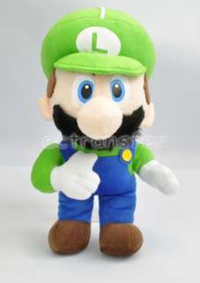 Super Mario Bros LUIGI 12.5 Plush Doll Soft Toy/MT90