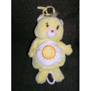 Care Bears Plush 10 Musical Funshine Bear Baby Crib Toy