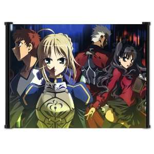 Fate Stay Night Anime Fabric Wall Scroll Poster (42x31