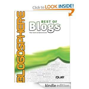 Blogosphere Best of Blogs Adrienne Crew, Peter Kuhns