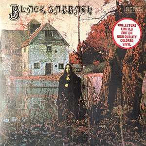 Black Sabbath (Colored Vinyl) BLACK SABBATH Music