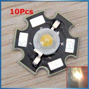 10pcs 3W 3.0V~4.0V DC 700mA High Power Warm White LED Light Lamp Bulb
