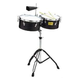 Tycoon Percussion 13 Inch & 14 Inch Black Powder Coated