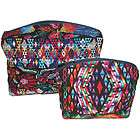 Recycled Huipil Geometric Cosmetic Bag from Guatemala