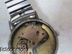 VINTAGE TISSOT & FILS SS AUTOMATIC BUMPER MOVEMENT MENS WRIST WATCH