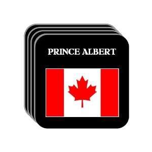 Canada   PRINCE ALBERT Set of 4 Mini Mousepad Coasters