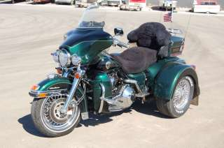 1999 Harley Davidson Ultra Classic Electra Glide Trike P12072 Green