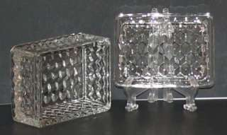 Fostoria American Crystal Jewel Cigarette Box Lid