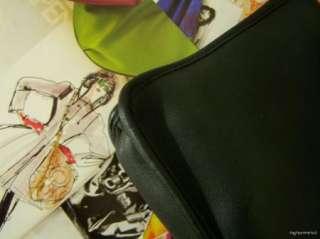 Black COACH Leatherware Small Briefcase Bag Purse Handbag MINT