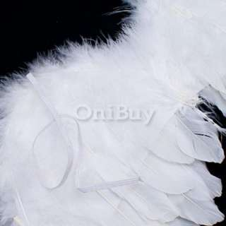 Fairy Angel Feather Wings Halo Baby Photo Props 6 18mo