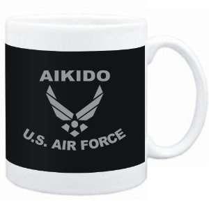 Mug Black  Aikido   U.S. AIR FORCE  Sports  Sports