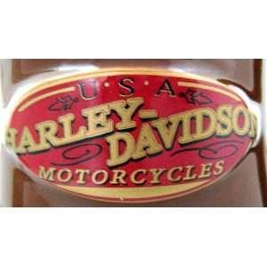 Official Licensed Harley Davidson U.S.A. Motorcycles Cigar Label Brown