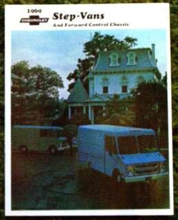 1969 Chevrolet Step Vans Brochure 69