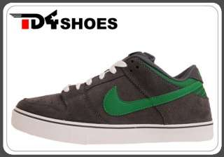 Nike Dunk Low LR Dark Grey Pine Green 2012 Mens Shoes 487925 031