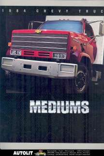 1984 Chevrolet 50 60 70 Medium Duty Truck Brochure