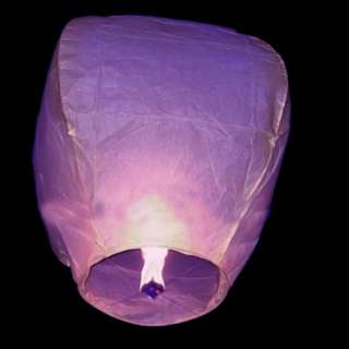 10×8 COLOR LARGE Lanterns Chinese paper sky candle wed flying Party