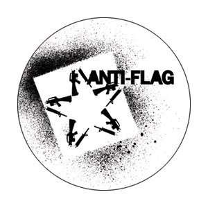 ANTI FLAG STAR BUTTON: Toys & Games
