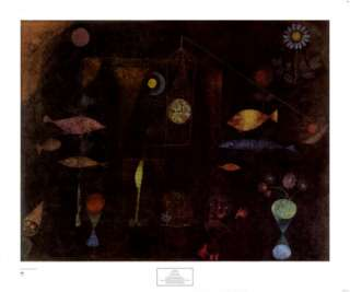 Fish Magic Posters by Paul Klee at AllPosters