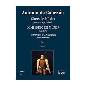 Arpa y Vihuela. Compendio de Musica (Madrid 1578) Musical Instruments
