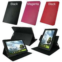 rooCASE Asus Transformer PRIME TF201 Dual View Multi Angle Leather