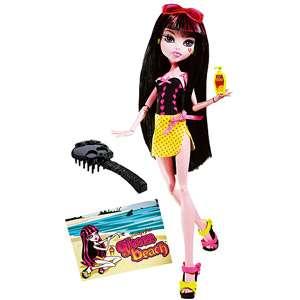 Monster High Gloom Beach Draculaura Doll, Monster High Gloom Beach