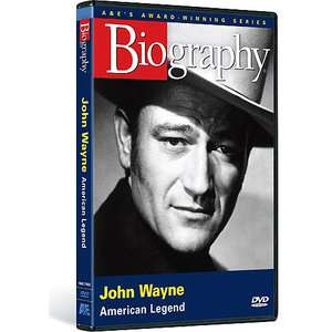 Biography: John Wayne   American Legend (Full Frame): TV